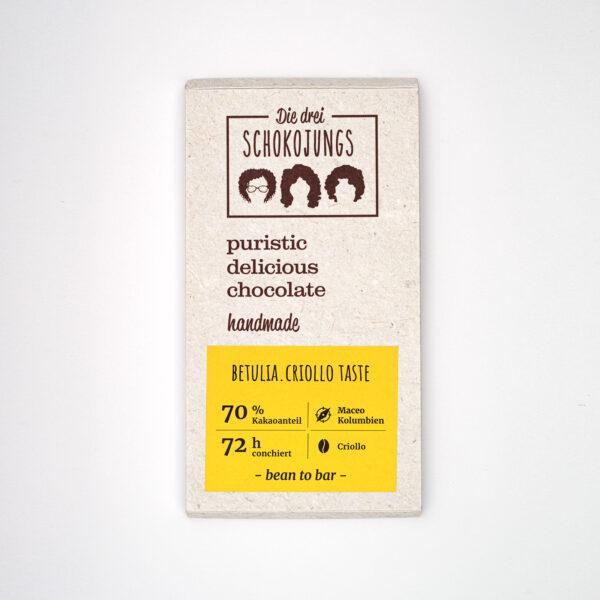 Die Drei Schokojungs Betulia Schokolade