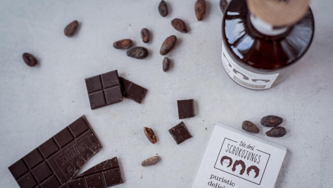 Kakaolikoer Mit Schokolade